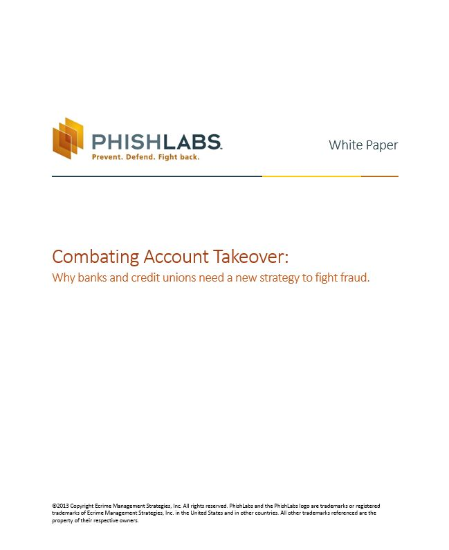 Combating Account Takeover White Paper