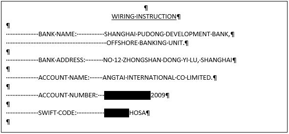 wiring instructions on invoice image 5