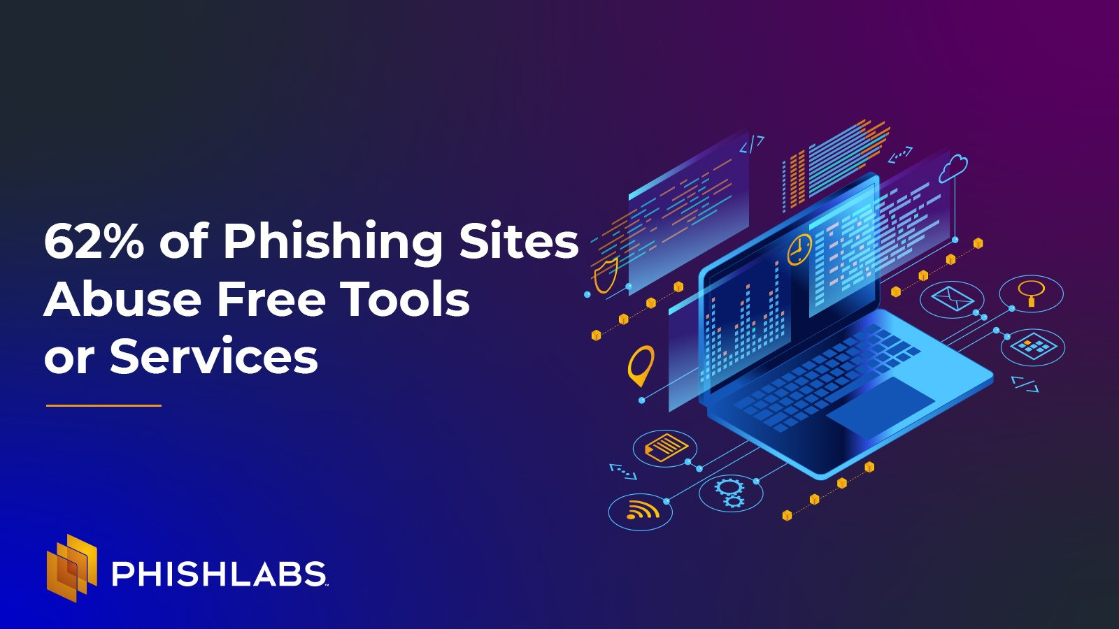 62% of Phishing Sites Abuse Free Tools or Services