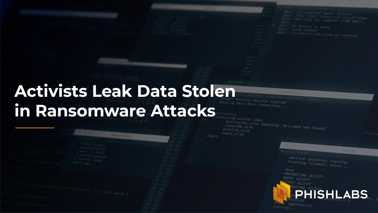 Activists Leak Data Stolen in Ransomware Attacks