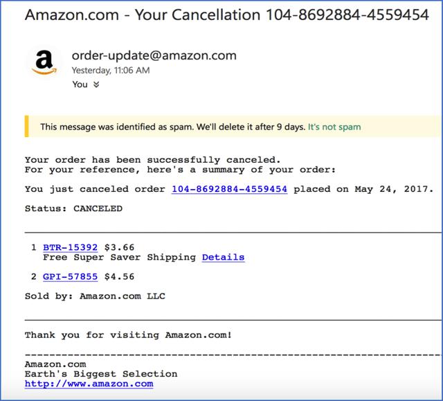 Nova prevara o tehnični podpori napada kupce Amazon, Ebay in Alibabe-1204