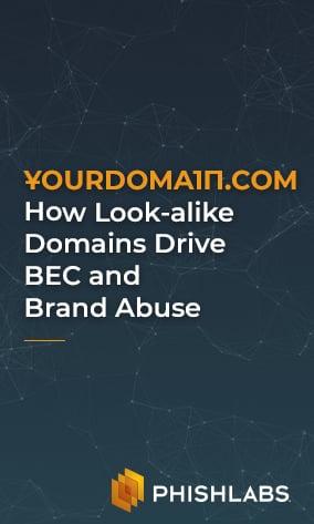 Look-alike Domains Webinar - Resources