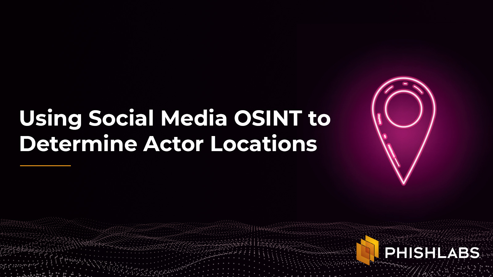 Using Social Media OSINT to Determine Actor Locations