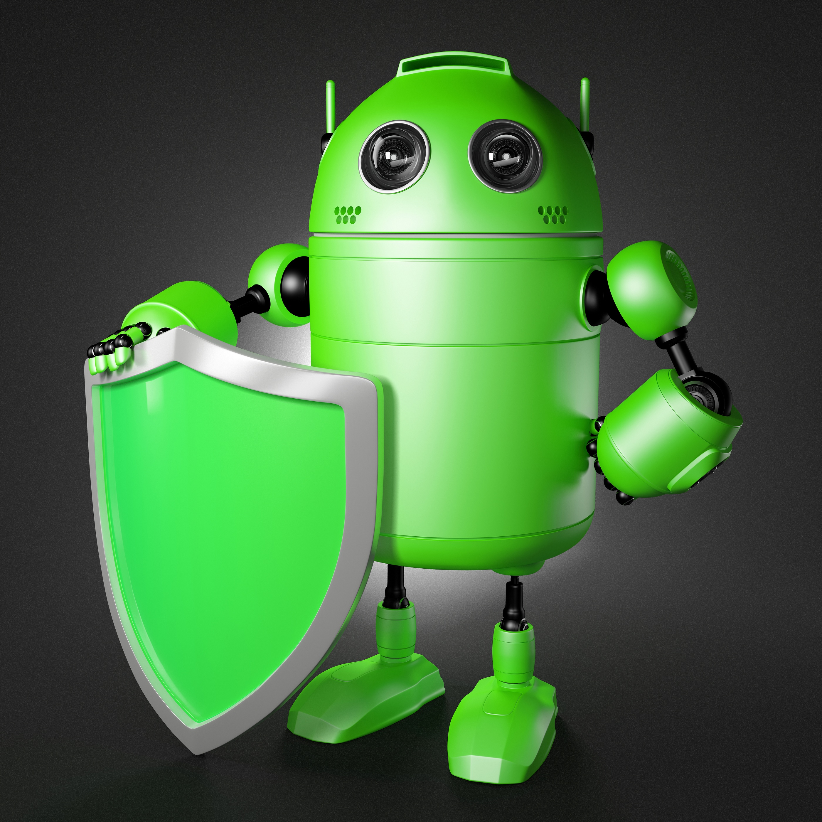 bigstock-Android-Guard-With-Shield-42429826