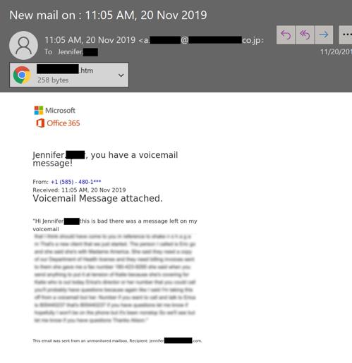 image based phishing lure