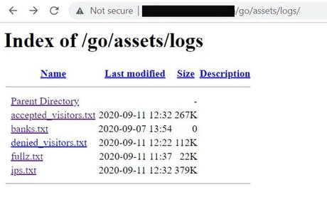logs copy
