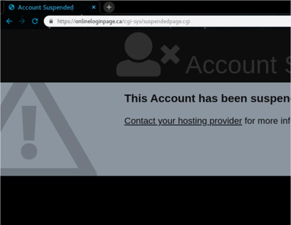 phishing site ex